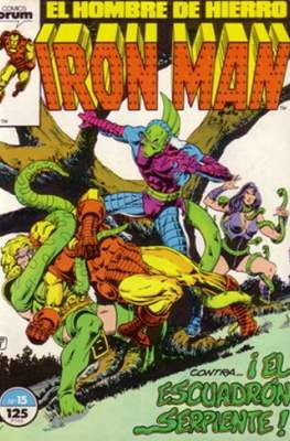 Iron Man Vol. 1 / Marvel Two-in-One: Iron Man & Capitán Marvel (1985-1991) (Grapa, 36-64 pp) #15