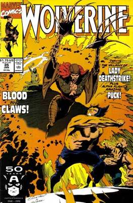 Wolverine (1988-2003) (Comic Book) #35