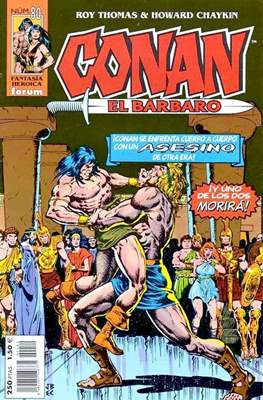 Conan el Bárbaro (1998-2001) (Grapa 24 pp) #80