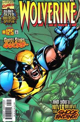 Wolverine (1988-2003) (Comic Book) #125