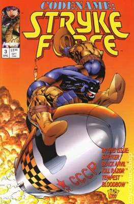 Codename: Strykeforce (1994-1995) (Comic Book) #3