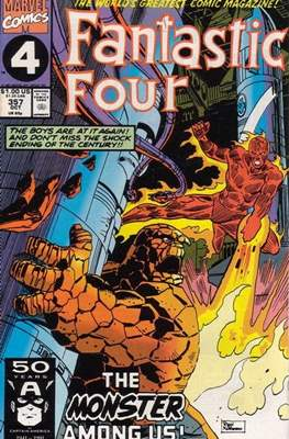 Fantastic Four Vol. 1 (1961-1996) (saddle-stitched) #357