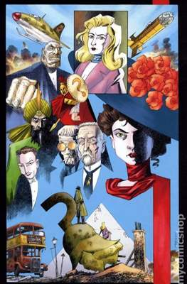 Absolute The League of Extraordinary Gentlemen: Black Dossier