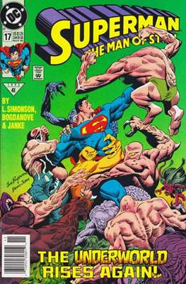 Superman: The Man of Steel (Comic book) #17