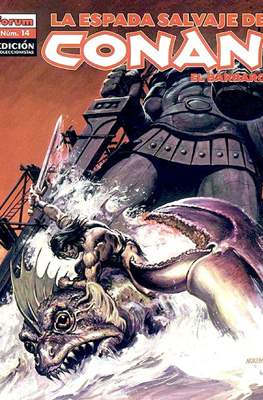 La Espada Salvaje de Conan el Bárbaro. Edición coleccionistas (Rústica. 64 páginas. B/N. (2005-2008).) #14