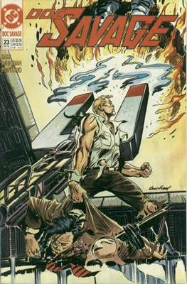 Doc Savage Vol 2 (1988-1990) (Comic-book.) #23