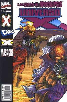 Universo-X (2000-2001) (Grapa. 17x26. 72/80 páginas. Color. (2000-2001)) #9