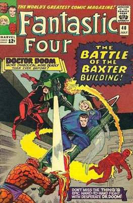 Fantastic Four Vol. 1 (1961-1996) (saddle-stitched) #40