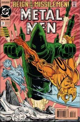 Metal Men (Vol. 2 1993-1994) (Grapa) #3