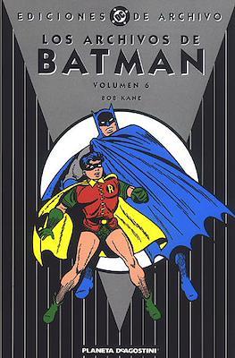 Los Archivos de Batman (Cartoné) #6