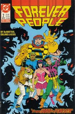 Forever People Vol 2: (1988) (Comic-book.) #2