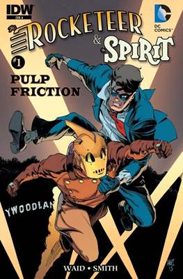 Rocketeer/The Spirit: Pulp Friction! (Comic Book) #1
