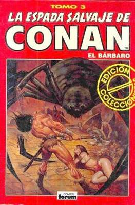 La Espada Salvaje de Conan el Bárbaro. Edición coleccionistas (Rojo) #3