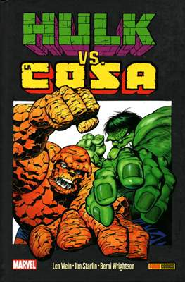 Hulk vs. La Cosa. 100% Marvel HC