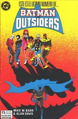 Batman y los Outsiders / Los Outsiders (1986-1988) (Grapa, 34 páginas) #24