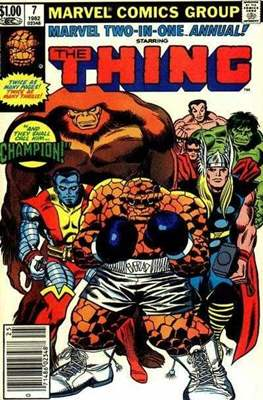 Marvel Two-in-One Annual (Comic Book. 1976 - 1982) #7