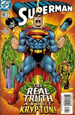 Superman Vol. 2 (1987-2006) (Comic Book) #166