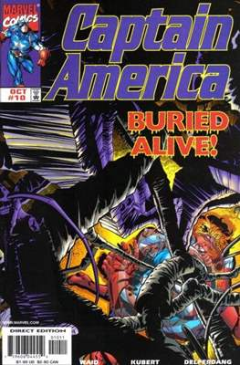 Captain America Vol. 3 (1998-2002) (Comic Book) #10