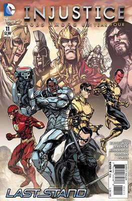 Injustice: Gods Among Us: Year Four (Comic-Book) #11