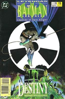 Leyendas de Batman. Legends of the Dark Knight (Grapa (1990)) #36