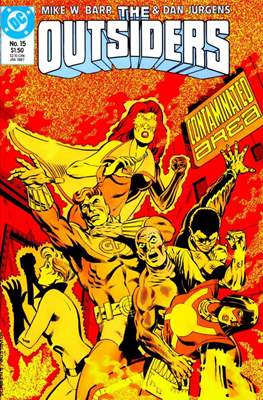 The Outsiders (1985-1988) (Comic Book) #15