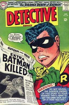 Detective Comics Vol. 1 (1937-2011; 2016-) (Comic Book) #347