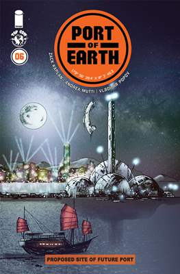 Port of Earth (Comic-book) #6
