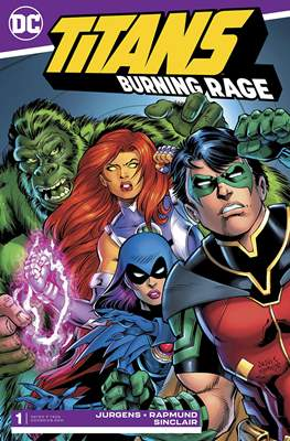 Titans: Burning Rage (Comic Book) #1