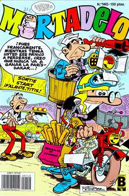 Mortadelo (1987-1991) (Grapa) #140
