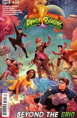 Mighty Morphin Power Rangers (Comic Book) #33