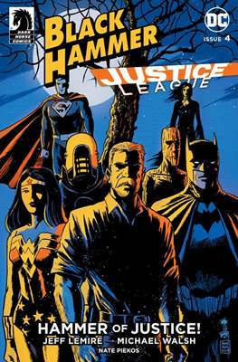 Black Hammer / Justice League: Hammer of Justice (Variant Cover) (Comic Book) #4.1