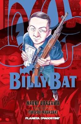 Billy Bat (Rústica con sobrecubierta) #5