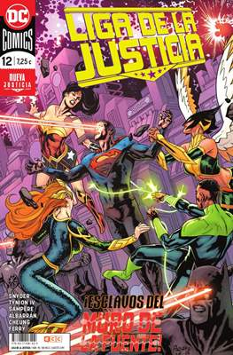 Liga de la Justicia. Nuevo Universo DC / Renacimiento (Grapa) #90/12