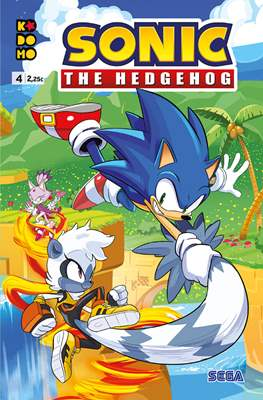 Sonic The Hedgehog (Grapa 24 pp) #4