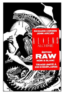Aliens Alchimie - Édition Raw Noir & Blanc