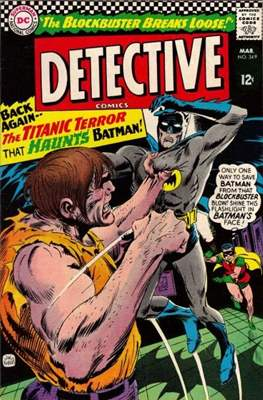 Detective Comics Vol. 1 (1937-2011; 2016-) (Comic Book) #349