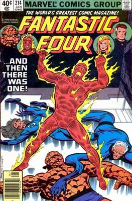 Fantastic Four Vol. 1 (1961-1996) (saddle-stitched) #214