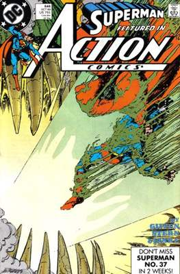 Action Comics Vol. 1 (1938-2011; 2016-) (Comic Book) #646