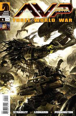 Aliens vs Predator: Three World War (Comic Book) #4