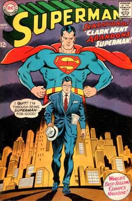 Superman Vol. 1 / Adventures of Superman Vol. 1 (1939-2011) (Comic Book) #201