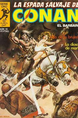 La Espada Salvaje de Conan. Vol 1 (1982-1996) (Grapa. B/N.) #10