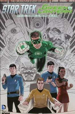 Star Trek Green Lantern (Comic Book) #1