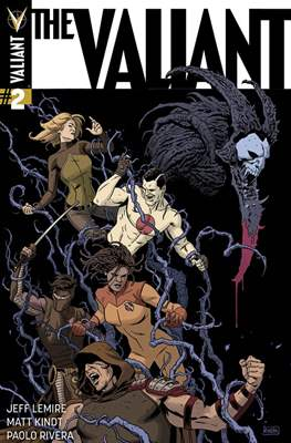The Valiant (2014) (Comic-book) #2