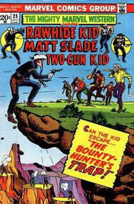 Mighty Marvel Western Vol 1 (Comic-book.) #25