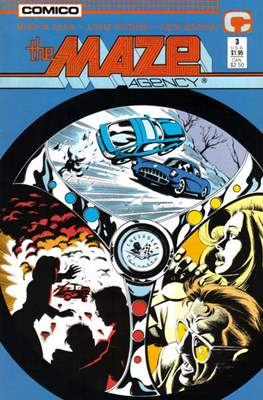 The Maze Agency (Comic Book) #3
