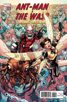 Ant-Man & The Wasp: Living Legends (Variant Covers)