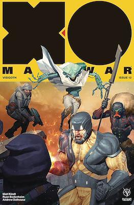 X-O Manowar Vol. 4 (2017-2019 Variant Cover) #12
