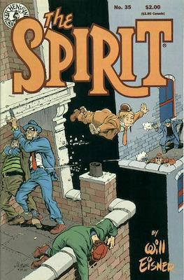 The Spirit (1983-1992) (Comic book. 32 pp) #35