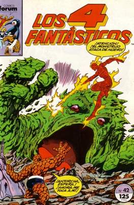 Los 4 Fantásticos Vol. 1 (1983-1994) (Grapa 36-32-24 pp) #42