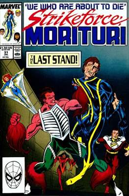 Strikeforce Morituri (Comic-book.) #31